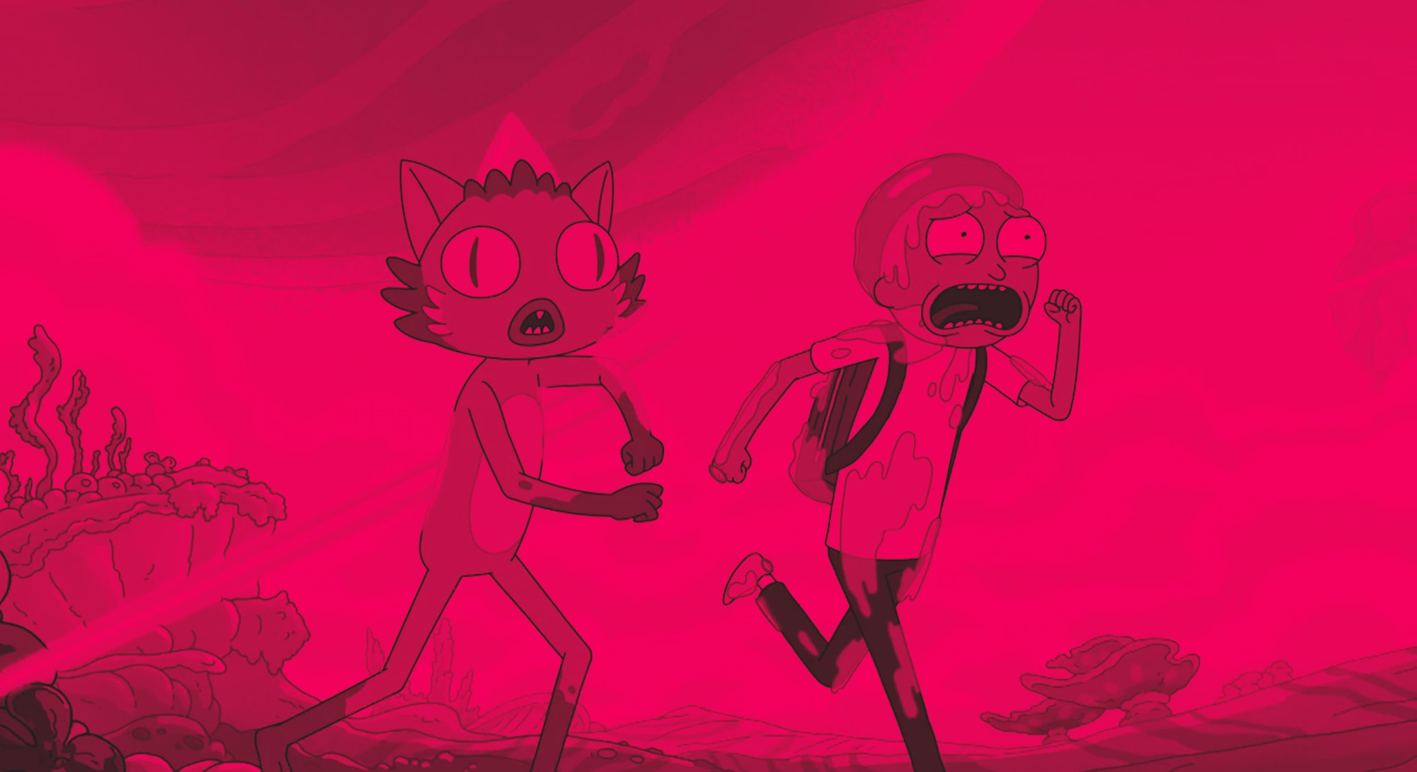 Morty runs with Chachi in Season 4