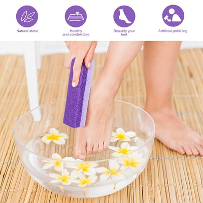 Healifty Foot Exfoliator Pedicure Tool (2-Pack)