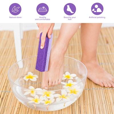 Healifty Foot Exfoliator Pedicure Tool (2-Pack)