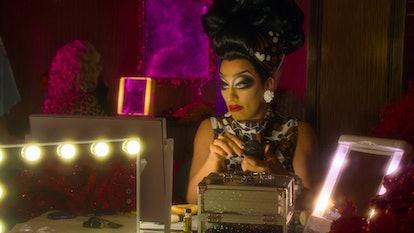 Bianca del Rio in AJ and the Queen.
