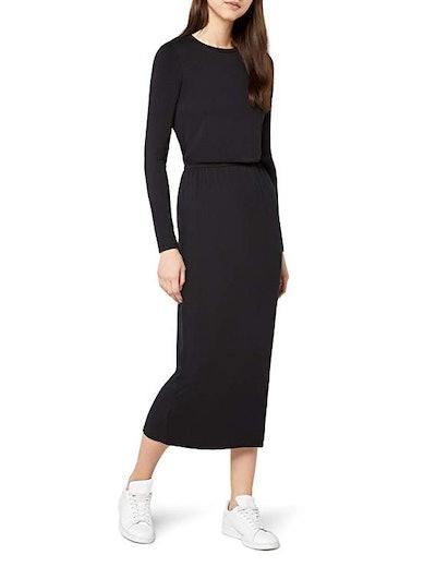 Amazon Brand - find. Women's Elastic Waist Maxi Dress