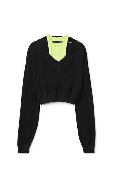 Bi-Layer Sweater Top