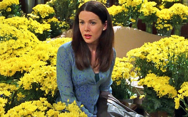 Lauren Graham 'Gilmore Girls' daisies