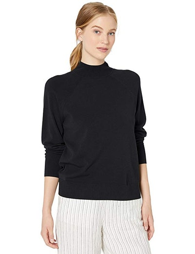 Amazon Brand - Daily Ritual Women's Stretch Mockneck Pullover