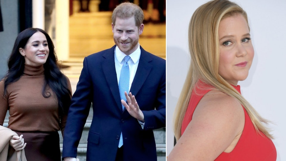 Amy Schumer took to Instagram where she announced that she and her husband would be formally stepping away from their royal duties — just like Meghan Markle and Prince Harry.