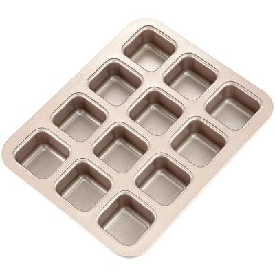 CHEFMADE Brownie Cake Pan (12 Cavity)