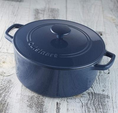 Cuisinart Round Cast Iron Casserole (5 Qt)