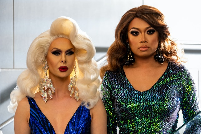 Trinity Tuck and Jujubee in AJ and the Queen.