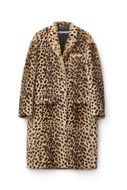 Cheetah Print Robe Coar