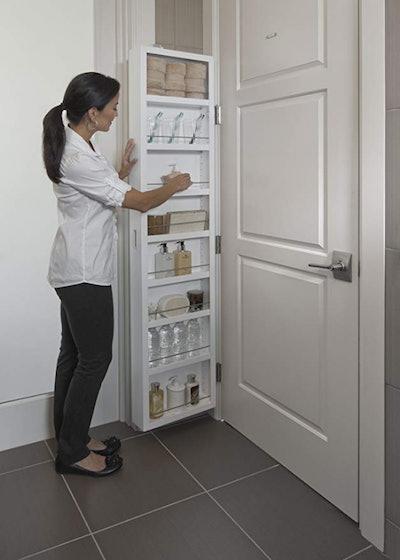 Cabidor Deluxe Mirrored Storage Cabinet
