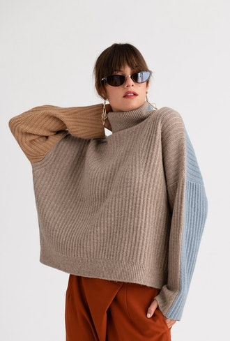 Averie Cashmere Blend Sweater