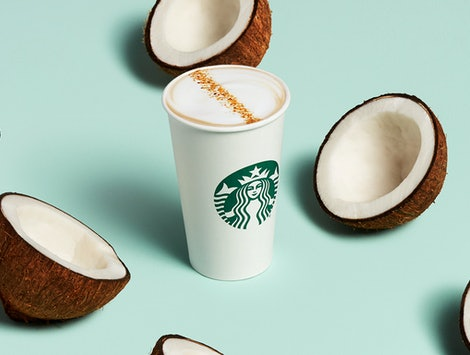 Starbucks has vegan drink hacks to be more plant-based.