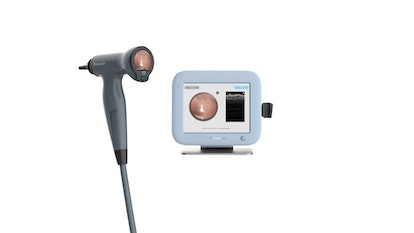 PhotoniCare's TOMiScope uses advanced light-based technology to see not only the surface of the eardrum, but into the middle ear as well.