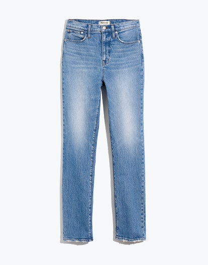 Classic Straight Full-Length Jeans in Eastend Wash