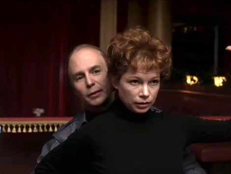 Actors Sam Rockwell and Michelle Williams star in 'Fosse/Verdon' on FX.