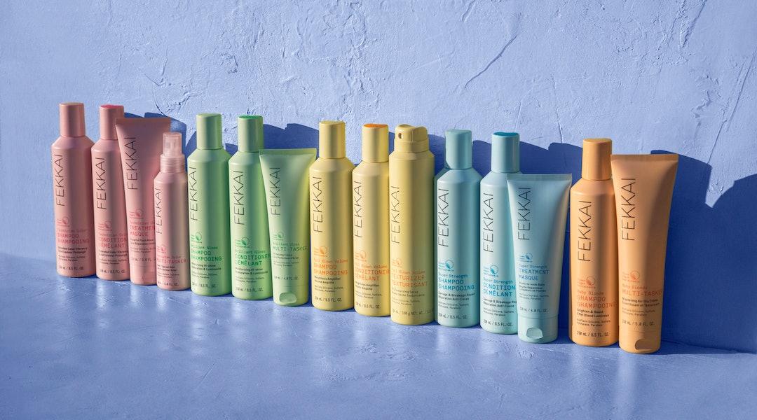 Products from FEKKAI, a new haircare line from Frédéric Fekkai.