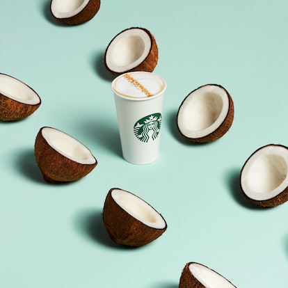 Starbucks has two new dairy-free drinks for 2020 including a vegan coconutmilk latte.