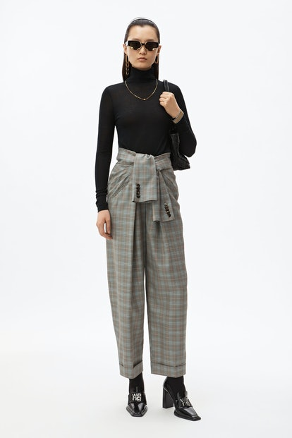 Tie Front Carrot Pant