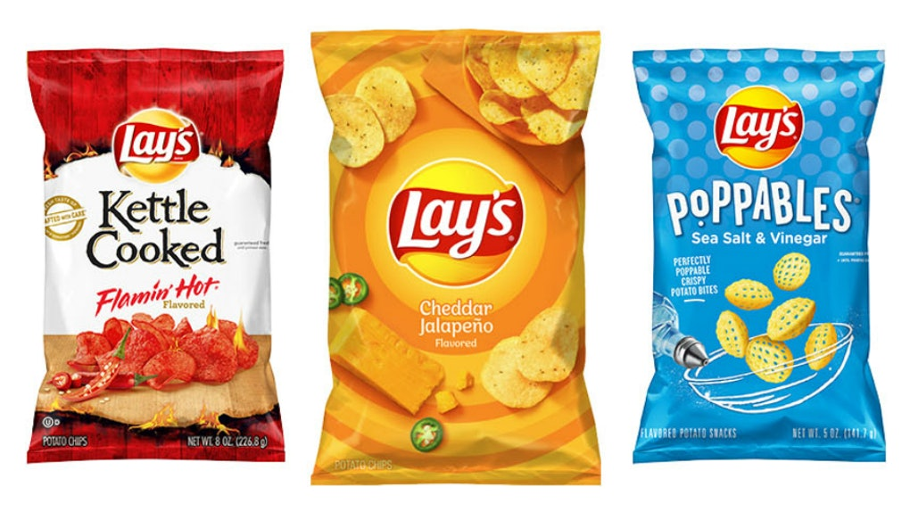 Lay's Is Spicing Up The Year With 3 New Flavors, including a cheddar jalapeno and a flamin' hot variety.