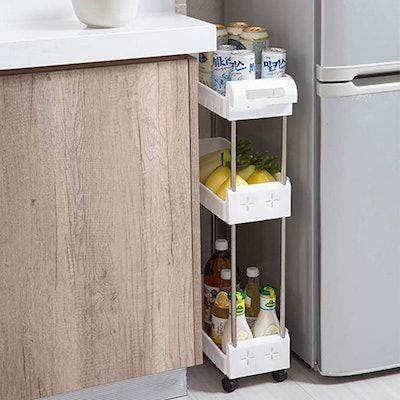 Aogist 3-Tier Slim Storage Cart