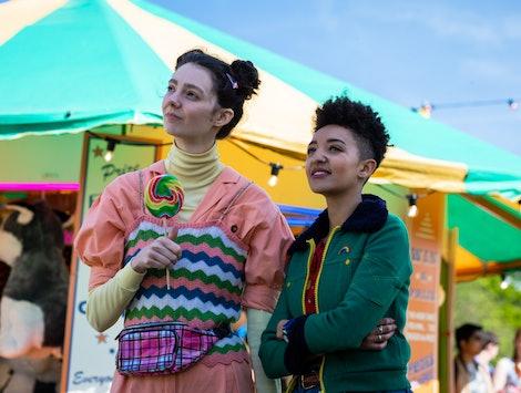Tanya Reynolds and Patricia Allison in 'Sex Education' Season 2