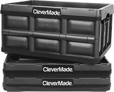 CleverMade 32L Collapsible Storage Bins (3-Pack)