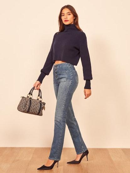 Elsie Straight Leg Jean