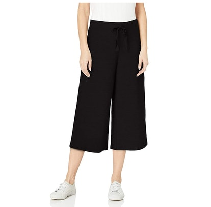 Daily Ritual Terry Cotton and Modal Culotte Pants