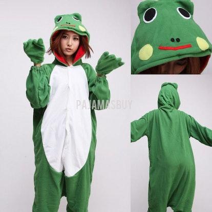 Pajamas Buy Green Frog Onesies Hoodie Costume Kigurumi Pajamas