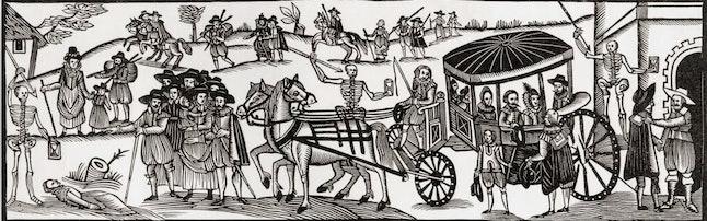 The Black Death created massive labor shortages.