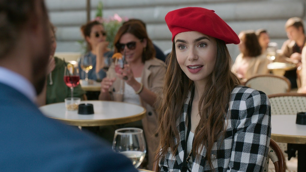 Lily Collins as Emily in 'Emily in Paris' Season 1