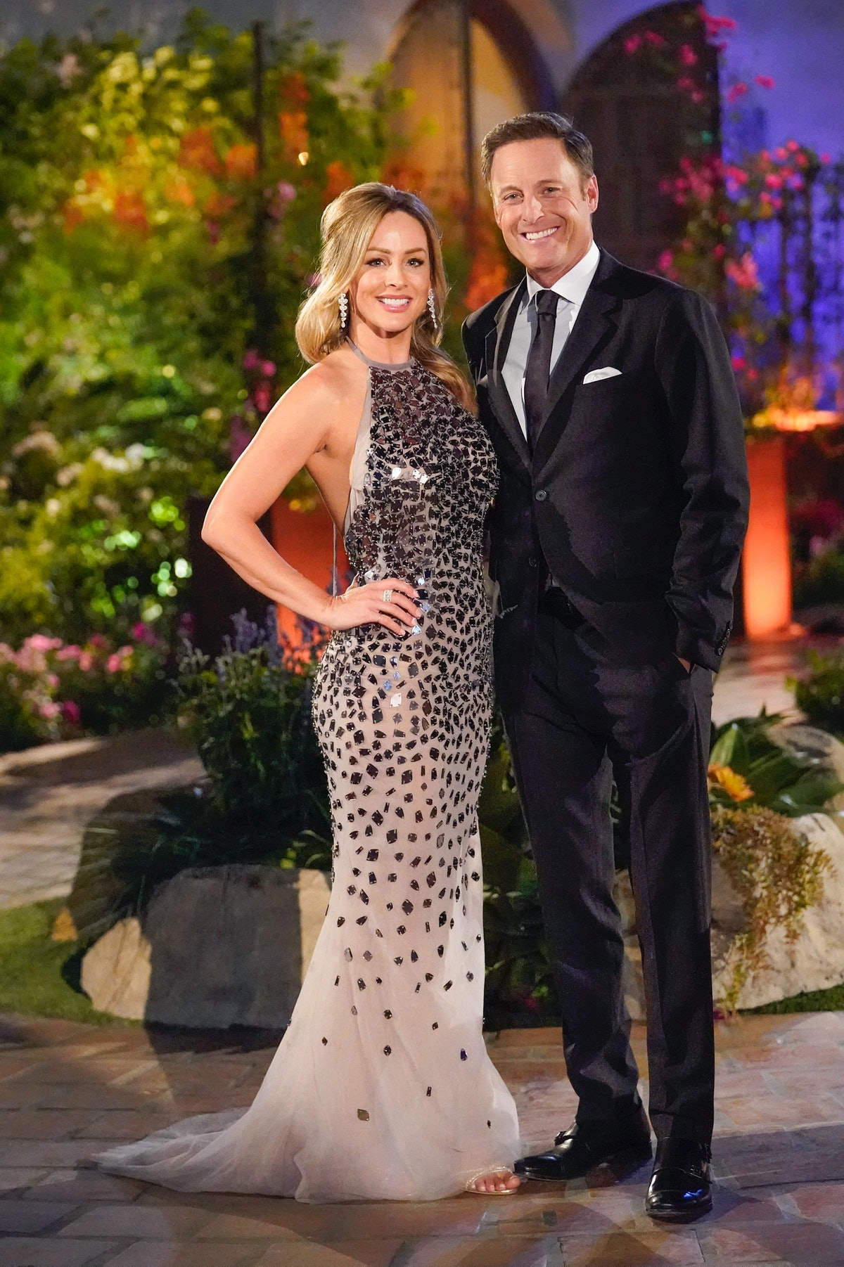 Clare Crawley and Chris Harrison on 'The Bachelorette'