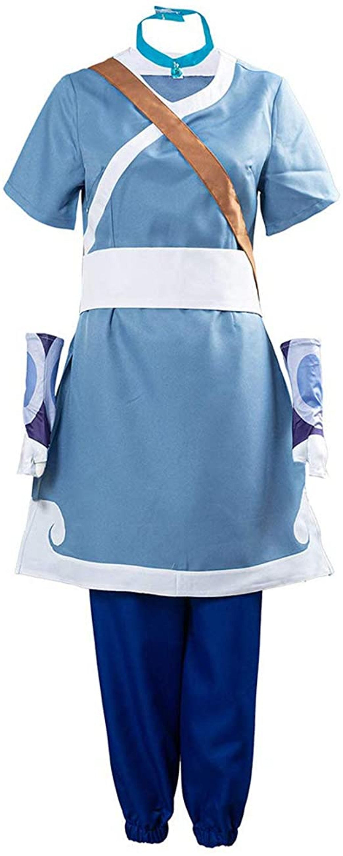 Katara Costume for 'Avatar: The Last Airbender' Halloween Cosplay