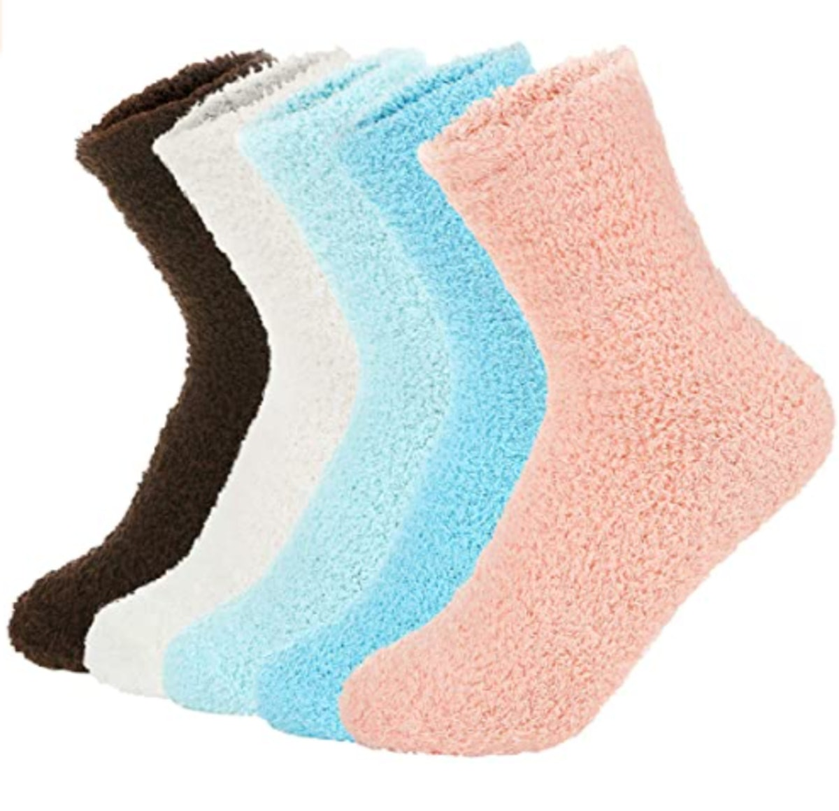 Zando Plush Socks (5-Pack)