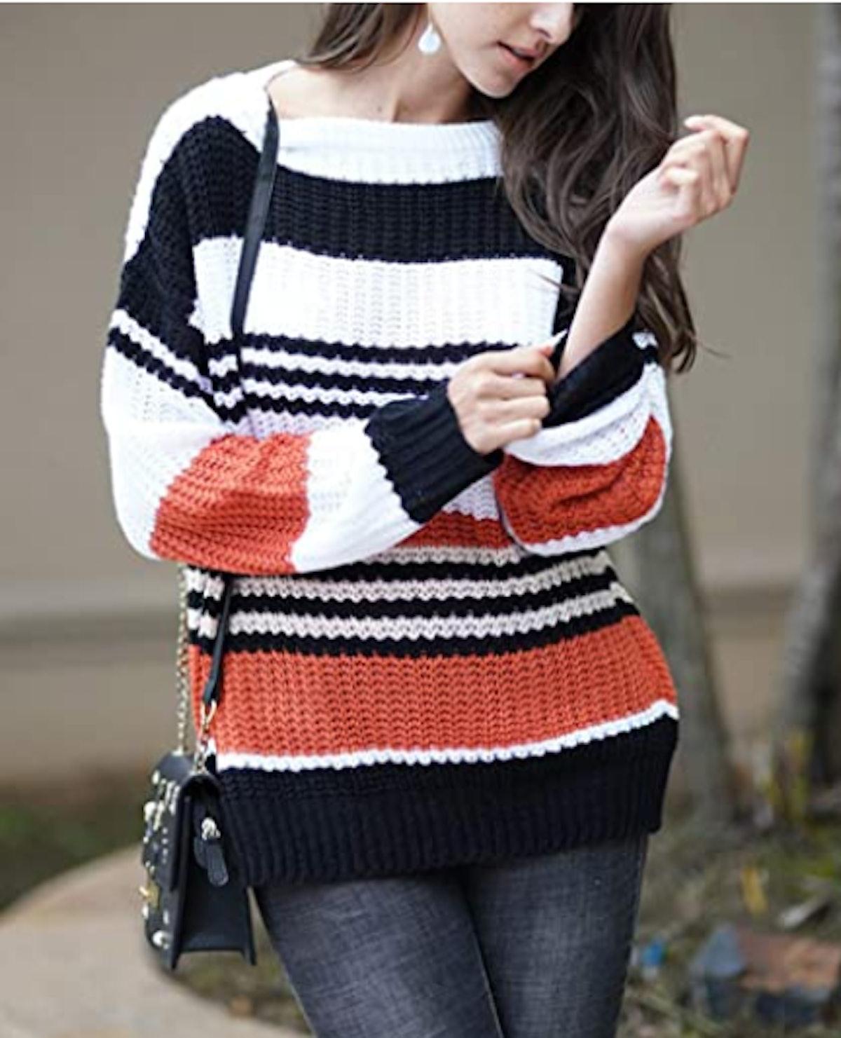 KIRUNDO Striped Sweater
