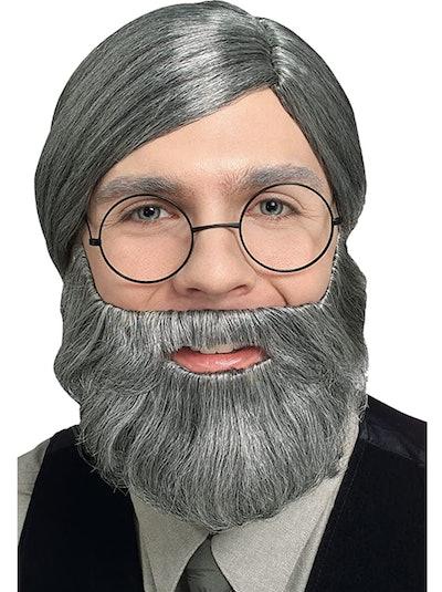 Gray Character Beard