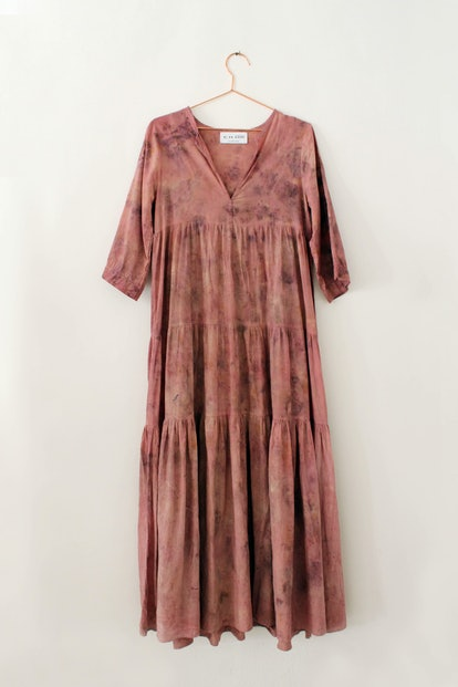 Preorder Sewá Dress In Cochineal