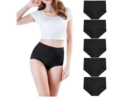 Wirarpa Cotton Underwear Briefs (5-Pack)