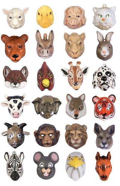 Plastic Animal Mask