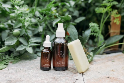 Hugh & Grace have launched a face serum, body oil, and facial cleansing bar.