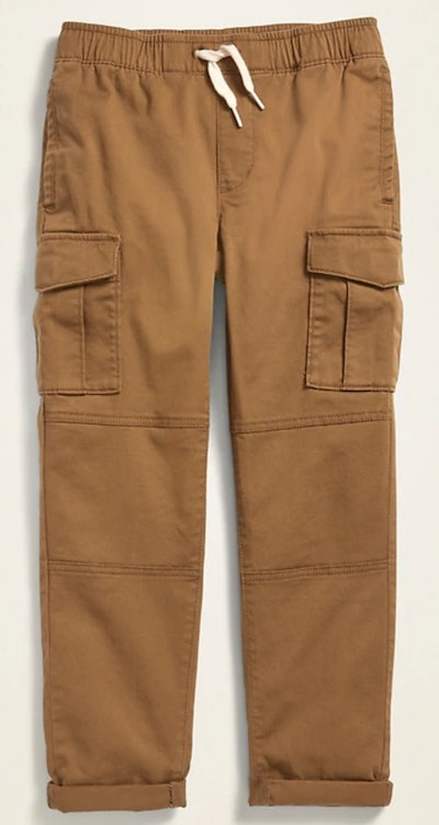 Relaxed Slim Taper Pull-On Cargo Pants