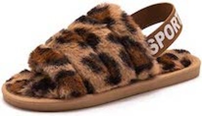 techcity Fuzzy Slippers