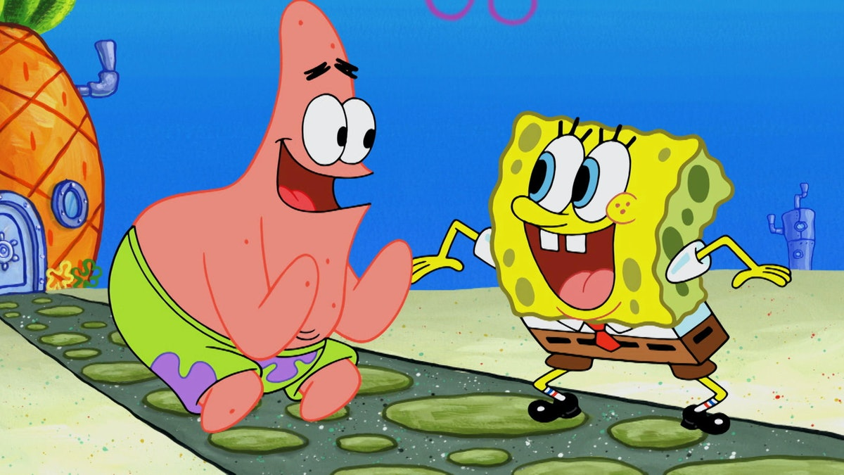 Key art for the original run of 'Spongebob Squarepants'