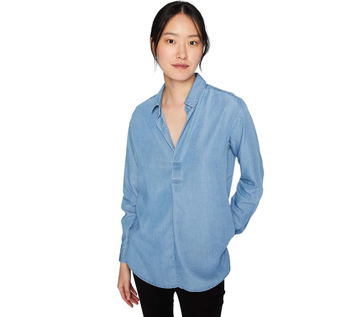 Daily Ritual Women's Tencel Shirt