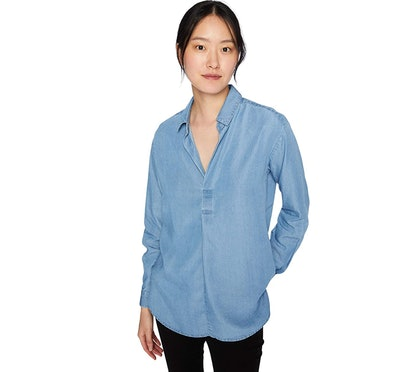Daily Ritual Women's Tencel Shirt