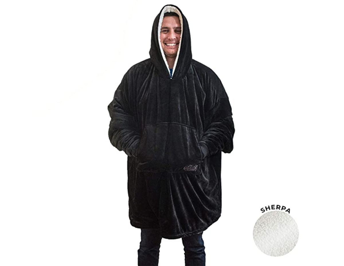 THE COMFY Sherpa Wearable Blanket