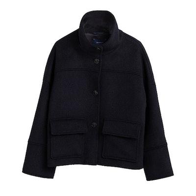 Wool Blend Cropped Jacket