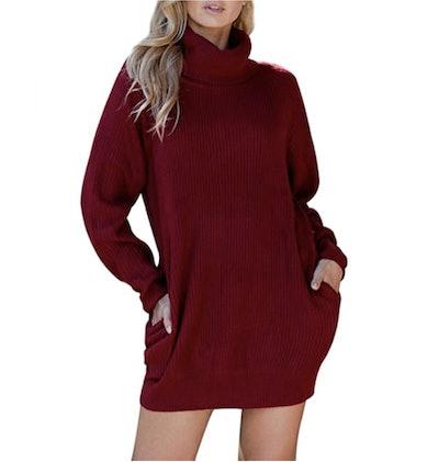 Pink Queen Sweater Dress