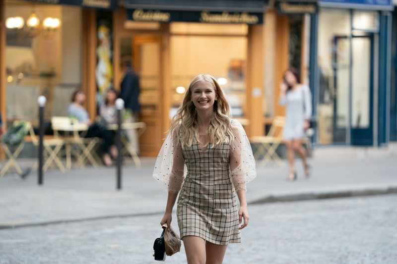 Camille on Emily in Paris via the Netflix press site