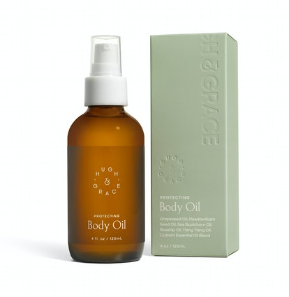 Protecting Body Oil